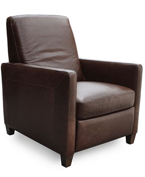 Macy S Recliner Chairs by Enzo Leather Recliner Chair Furniture Macy S