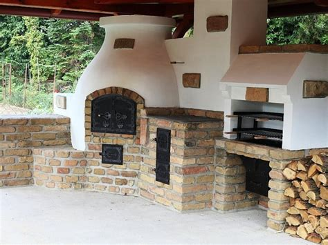 outdoor kitchen oven compact outdoor kitchen with bbq pizza oven and