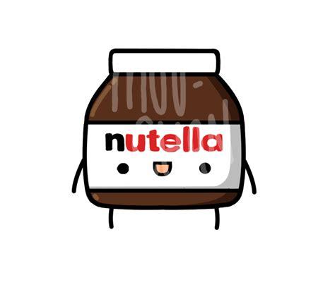 imagenes kawaii nutella nutella by minjixmuu chan on deviantart