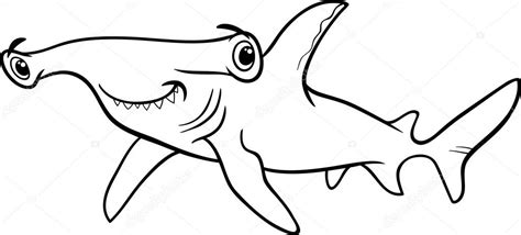 coloring page hammerhead shark synovial joints in the human body
