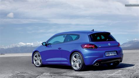 volkswagen blue volkswagen scirocco r side back blue car wallpaper