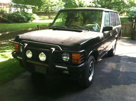 how to learn about cars 1993 land rover range rover classic lane departure warning find used 1993 range rover lwb county in vienna virginia united states for us 1 900 00