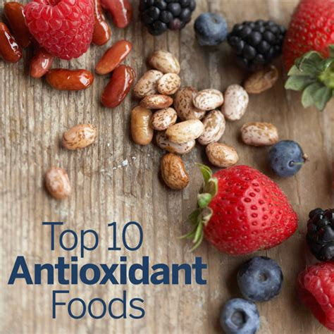 10 Best Antioxidant Foods by Our Favourite Antioxidant Rich Foods