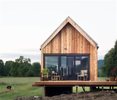 Tiny House Cabin by Tiny Cabin Vacation On Organic Farm Near Portland