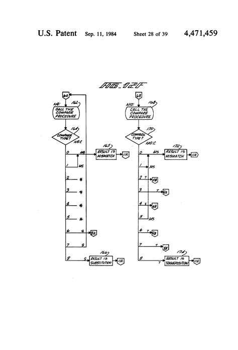classification pattern signal words patent us4471459 digital data processing method and
