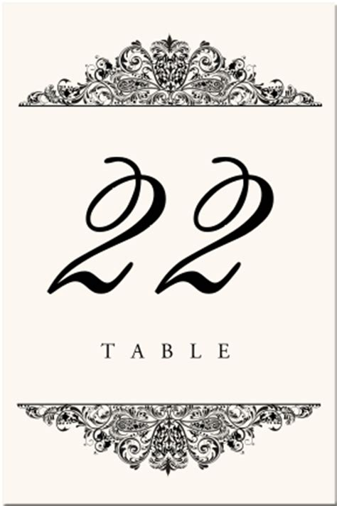 table number cards template paisley buddhist hindu wedding table cards indian table