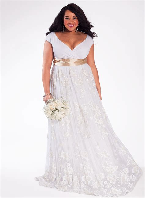 Wedding Dress Size by Plus Size Wedding Dresses With Sleeves And Other Plus Size