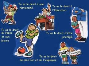 quels sont les droits des enfants la des droits