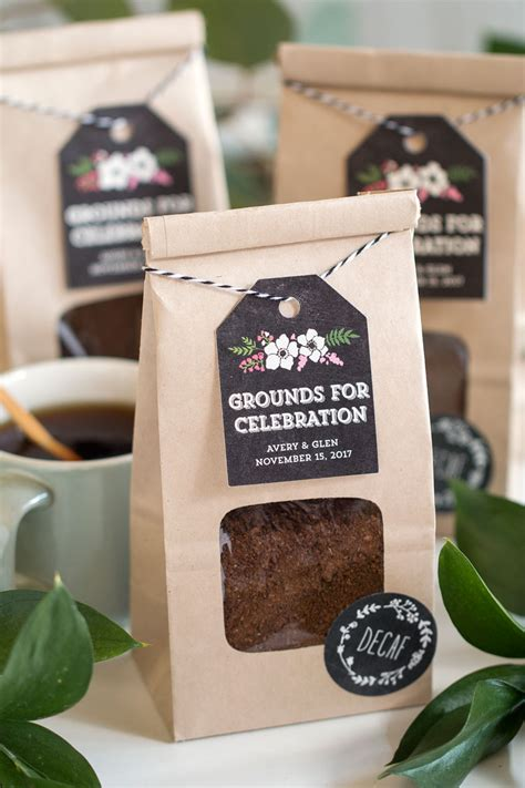 Wedding Favors Coffee by Grounds For Celebration Coffee Wedding Favors Kraft