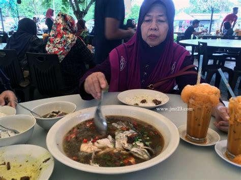 Teh Kotak Di Warung teh tarik madu warung pak mat sup kepala ikan sedap