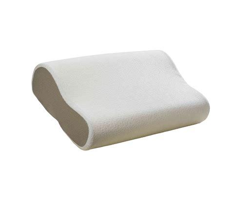oreillers a memoire de forme oreiller bultex ergonomique 224 m 233 moire de forme 52x33