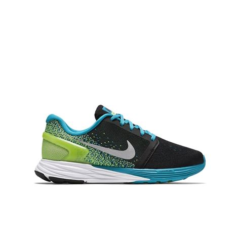nike silver running shoes nike lunarglide 7 gs boys running shoes black