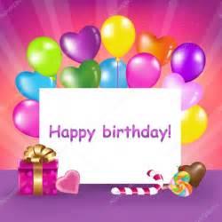 happy birthday card stock vector 169 adamson 4597460