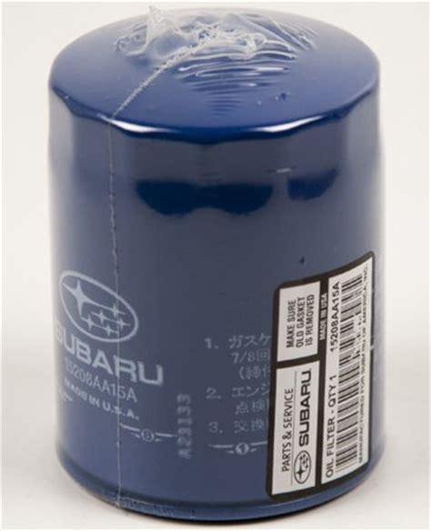 genuine subaru filter 15208aa160 15208aa15a