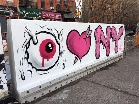 buff monsters eye heart  york  east side