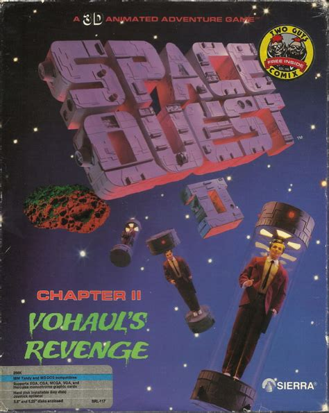 Office Quest Chapter 2 Space Quest Ii Chapter Ii Vohaul S For Amiga
