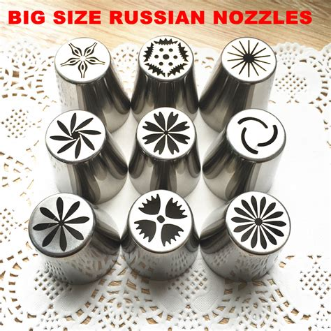Coupons For Home Decorators 2016 new 9pcs set the biggest size russian tulip stainless