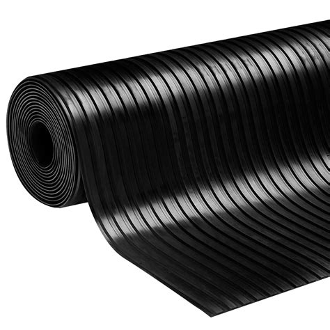 Ribbed Rubber Mat by Broad Ribbed Rubber Matting