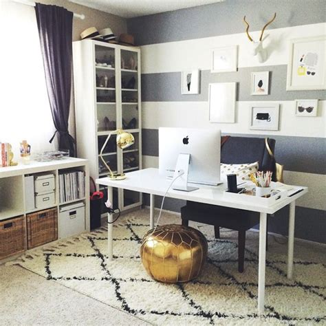 Carpet On The Wall by The Chic Amp Stylish Home Office