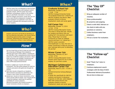 career brochure template best photos of sle brochure fair brochure