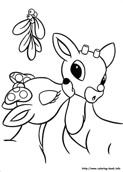rudolph the nosed reindeer coloring pages rudolph the nosed reindeer coloring picture coloring
