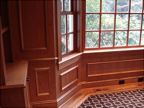 Cherry Wainscoting Duggan Woodworking Cherry Paneling And Casing For