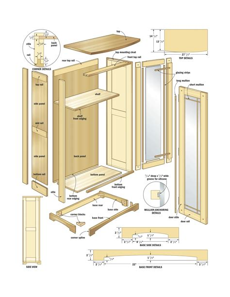 plans woodworking plans  cabinet