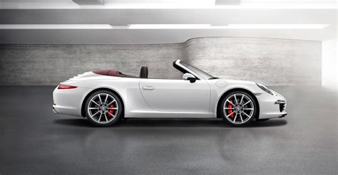 2012 white Porsche 911 Carrera S Cabriolet wallpapers