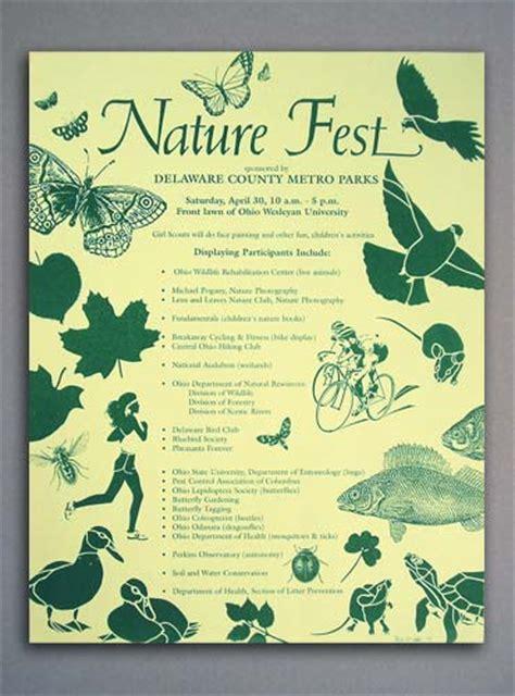 Poster Design Nature | print design client 13