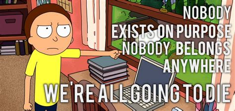 Rick And Morty Quote From Detoxing by The Best Rick And Morty Quotes From The Series So Far
