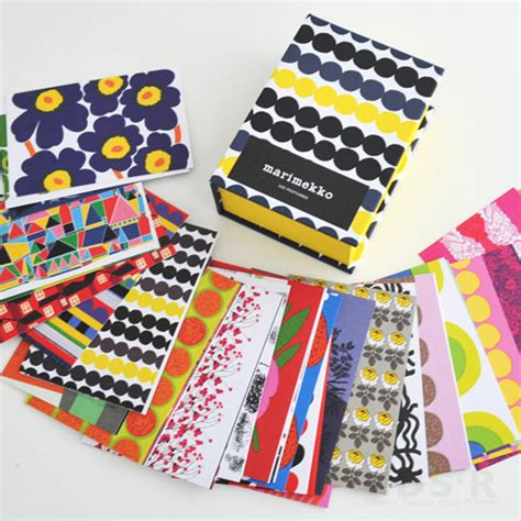 marimekko 100 postcards cds r rakuten global market reservations in new marimekko postcard set of 100 50 215 2