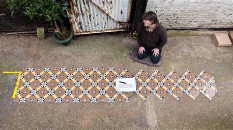 Craft Mosaic Tiles by Victorian Floor Tiles Sheeted Youtube
