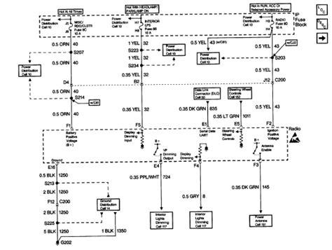 olds steering column wiring diagram 28 images 1990