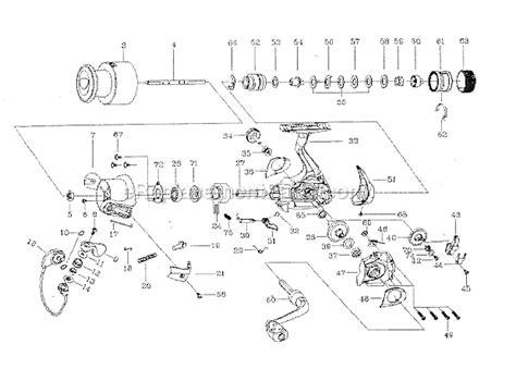 abu garcia reel parts diagram abu garcia c104r parts list and diagram 2003