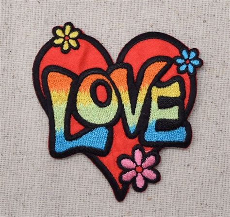 applique iron on iron on applique embroidered patch 60 s multi