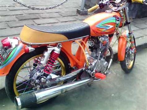 Bantalan Kepala Variasi Motif Warna modifikasi cb 100 1997 warna oranye airbrush mesin poles karbu variasi velg stang knalpot