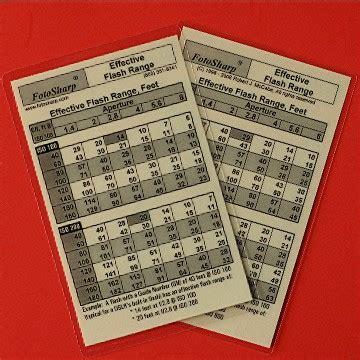 range card template flash range