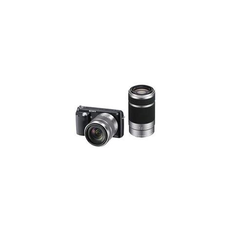 Kamera Sony Nex F3 jual harga kamera sony nex f3y b nex f3 dengan sel1855 sel55210 lens