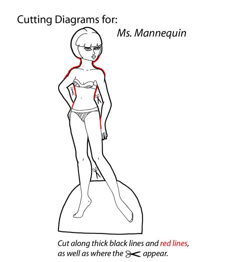 How To Make Cut Out Paper Dolls - how to cut out the paper dolls paper thin personas