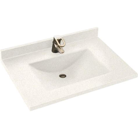 Swanstone Vanity Tops by Swan Contour 31 In W X 22 In D X 10 1 4 In H Solid