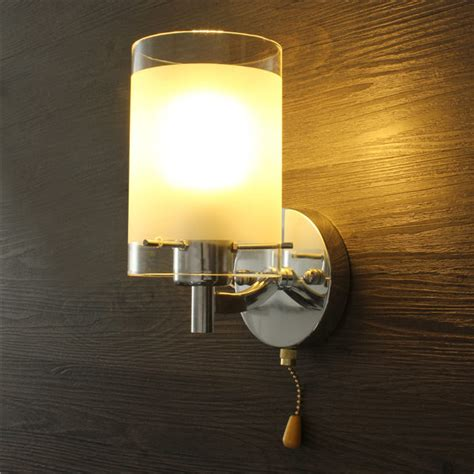 modern led indoor wall light fittings single with