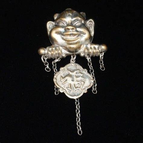lucky billiken lucky billiken vintage silver pin add charms tokens