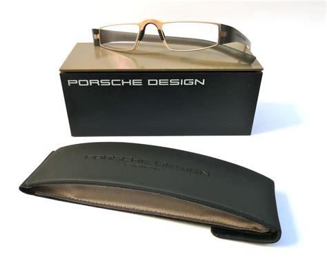 Porsche Lesebrille by Porsche Design 174 Lesebrille 8801 Q Gold Grau Spezialversand