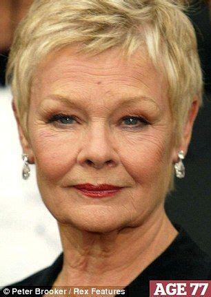 how to cut judi dench hair 1000 images about judi dench hair on pinterest for