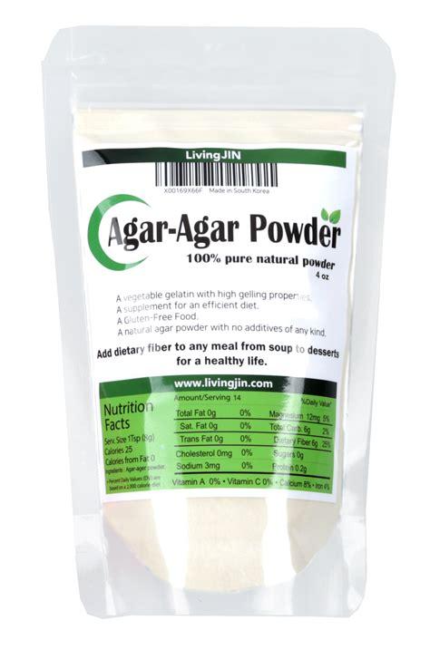Agar Agar Powder agar agar powder 4 oz grocery gourmet food