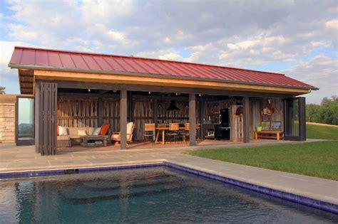Kentucky Pool House   Farmhouse   Pool   louisville   by