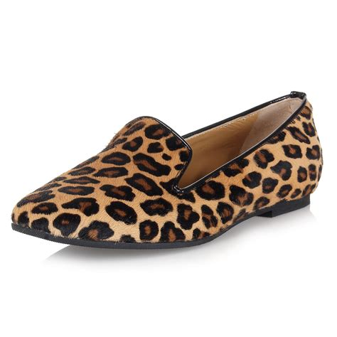zebra print flat shoes dsquared2 leopard print ponyskin flat shoes spence
