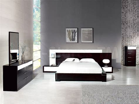 modern queen bedroom sets decobizz com gravity modern queen bedroom set in ebony dcg stores