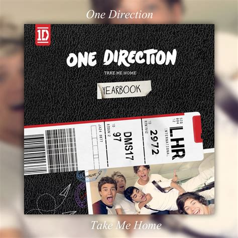 album take me home yearbook edition one direction by