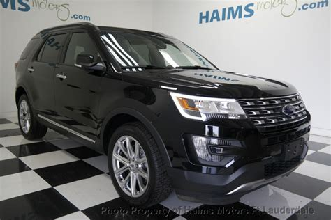 2016 ford explorer limited price 2016 used ford explorer 4wd 4dr limited at haims motors ft